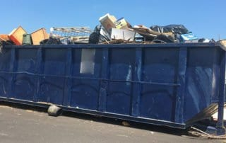 Overfilled Dumpster Rental Denver