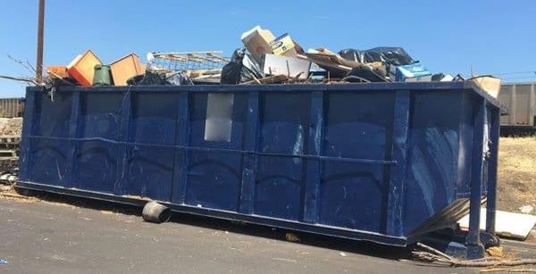 Overfilled Dumpster Rental Denver