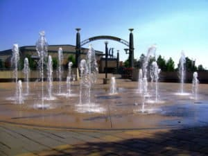Westminster Promenade Water Fountain