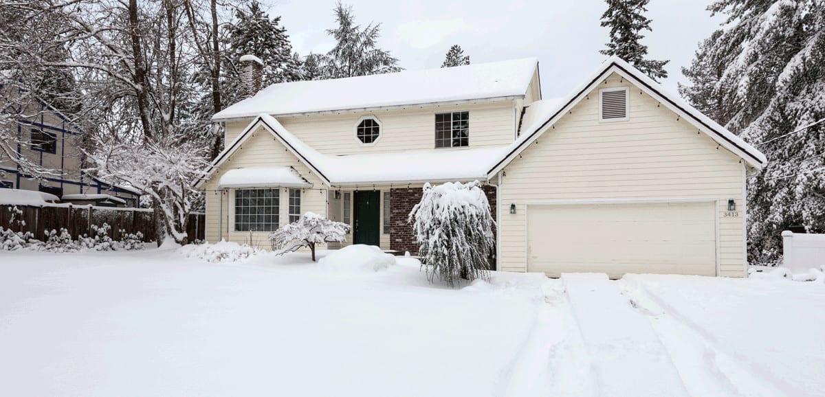 Winter Home Improvement - Dumpster Rentals