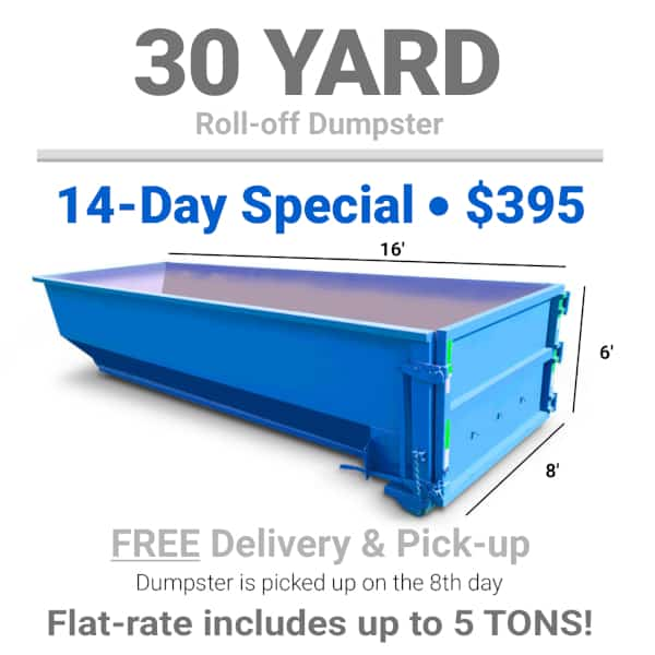roll-off dumpster rental
