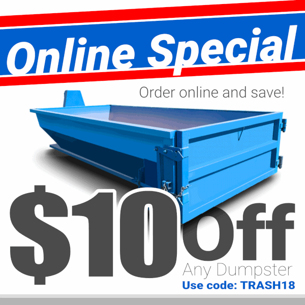 Roll-Off Dumpster Special Promotion