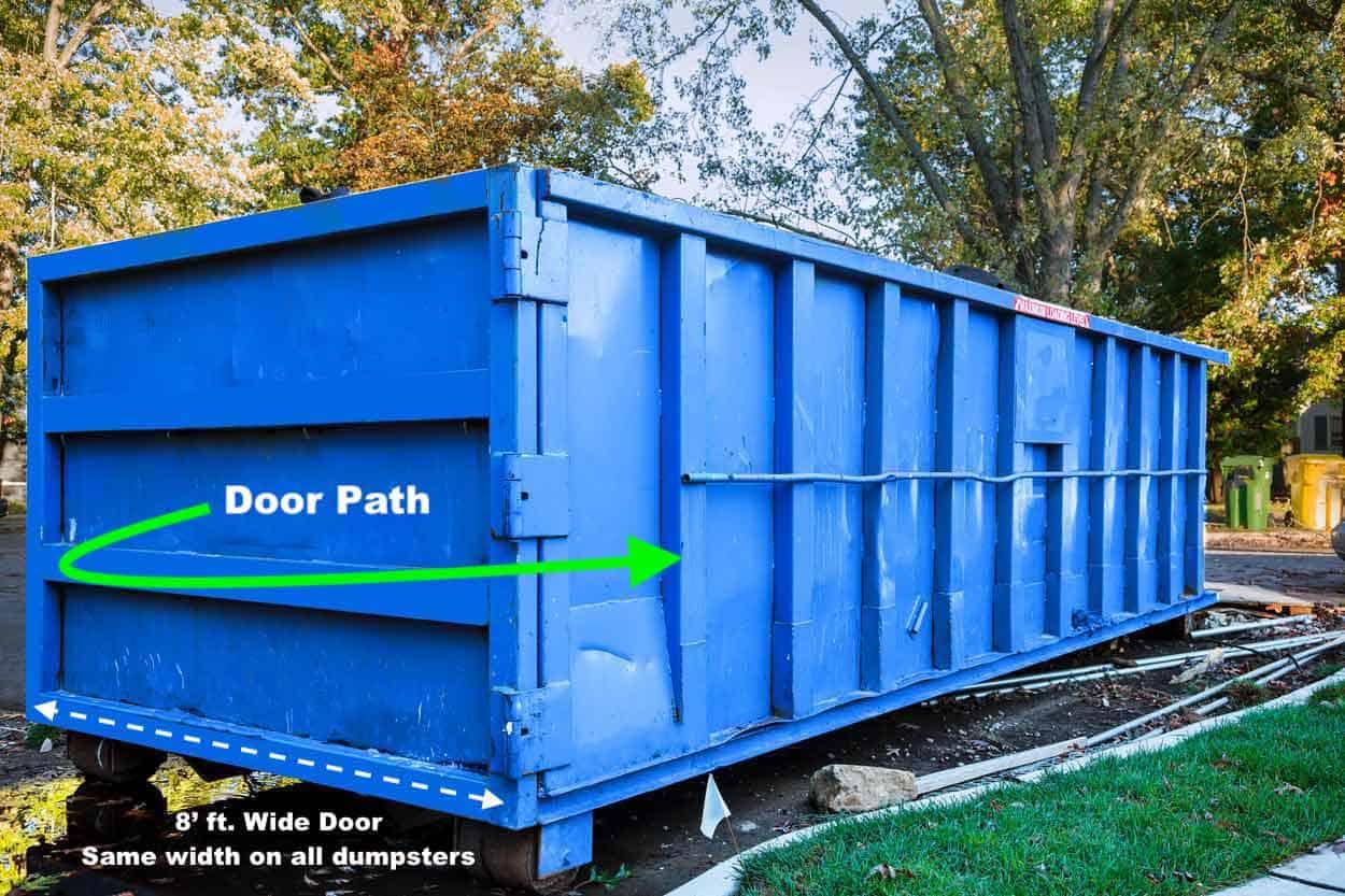 Roll-Off Dumpster Door