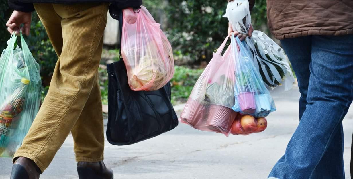Plastic trash in Denver