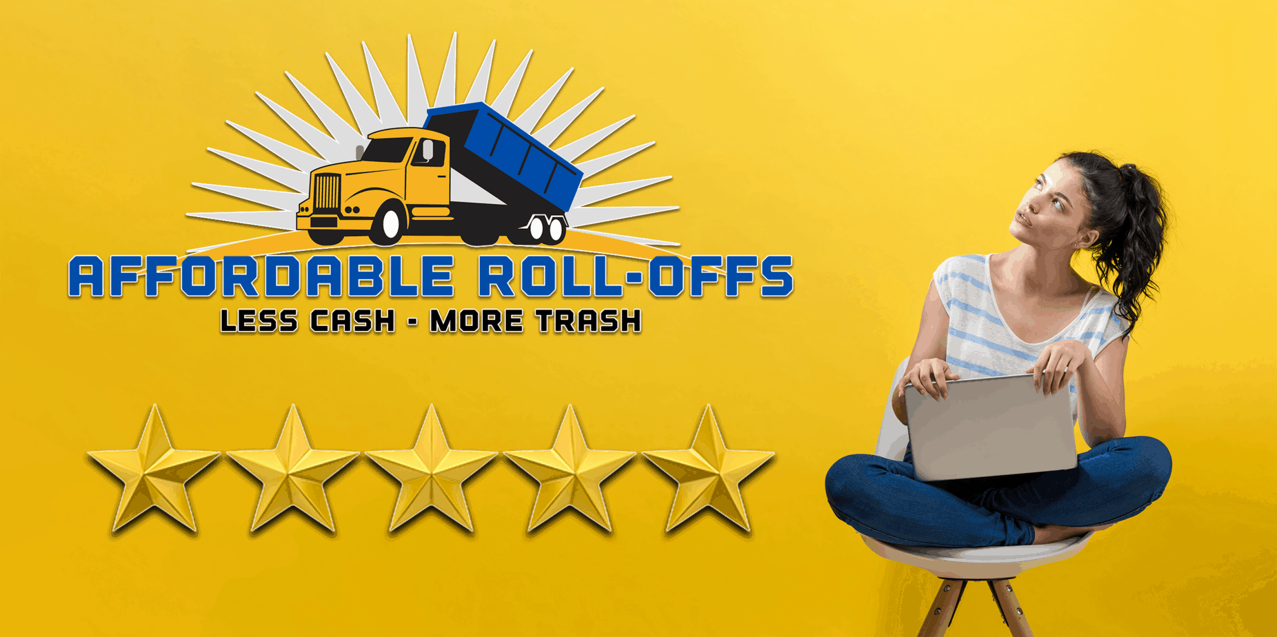 Affordable Roll-Offs 5 star customer reviews